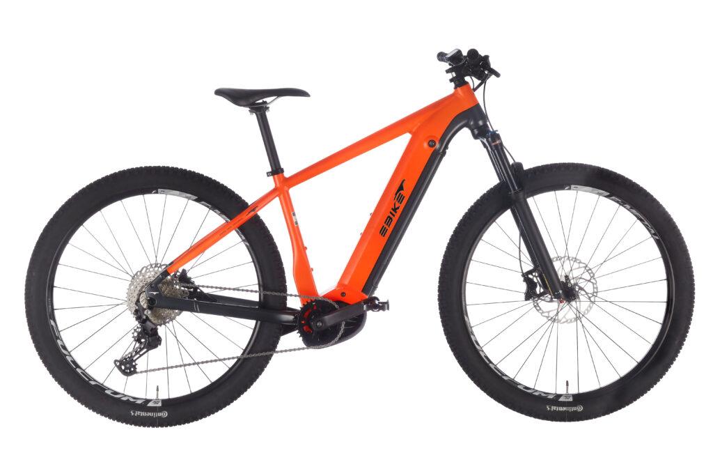 Orange - Schwarz Matt